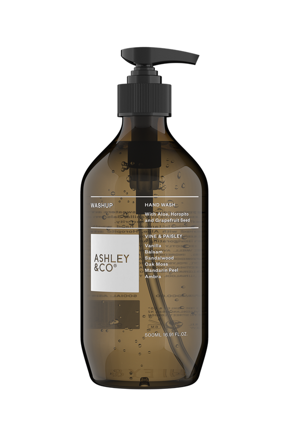 Ashley & Co - Vine & Paisley - Washup - 500ml