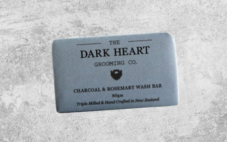The Dark Heart - Activated Charcoal & Rosemary Wash Bar