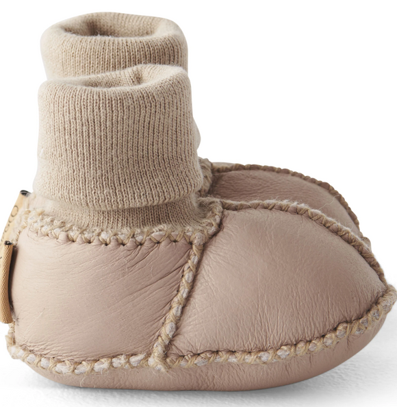 KIP & CO - Natural Almond Baby Booties