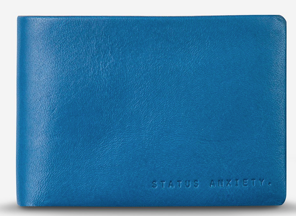 Status Anxiety - Jonah Wallet - Blue
