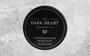 The Dark Heart - Coffee + Leather Beard Balm