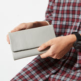 Status Anxiety - Audrey Wallet - Pebble Light Grey
