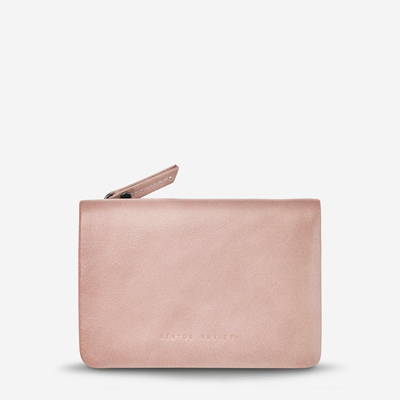 Status Anxiety - Is Now Better Wallet - Dusty Pink