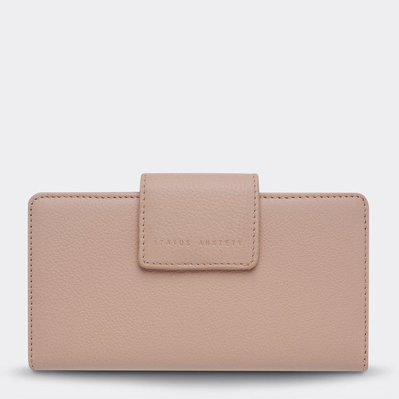 Status Anxiety - Ruins Wallet - Dusty Pink