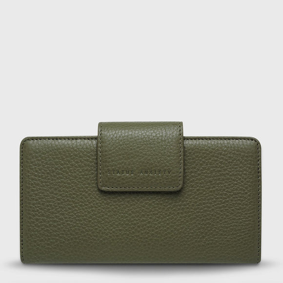Status Anxiety - Ruins Wallet - Khaki