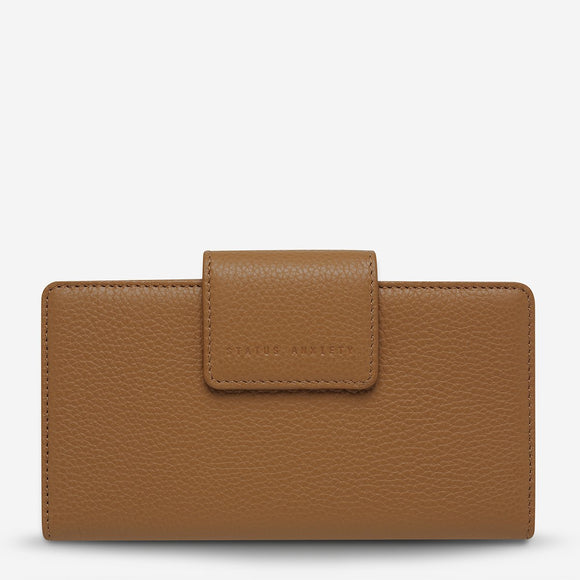 Status Anxiety - Ruins Wallet - Tan