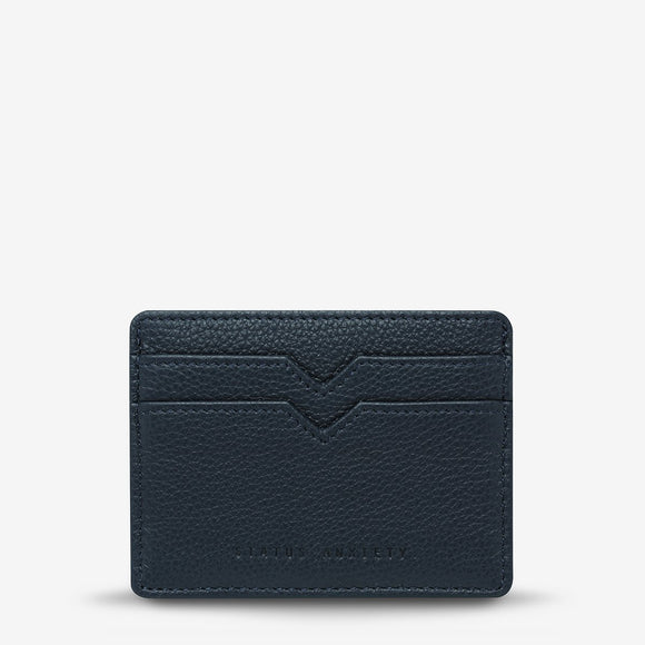 Status Anxiety - Together For Now Wallet - Navy Blue