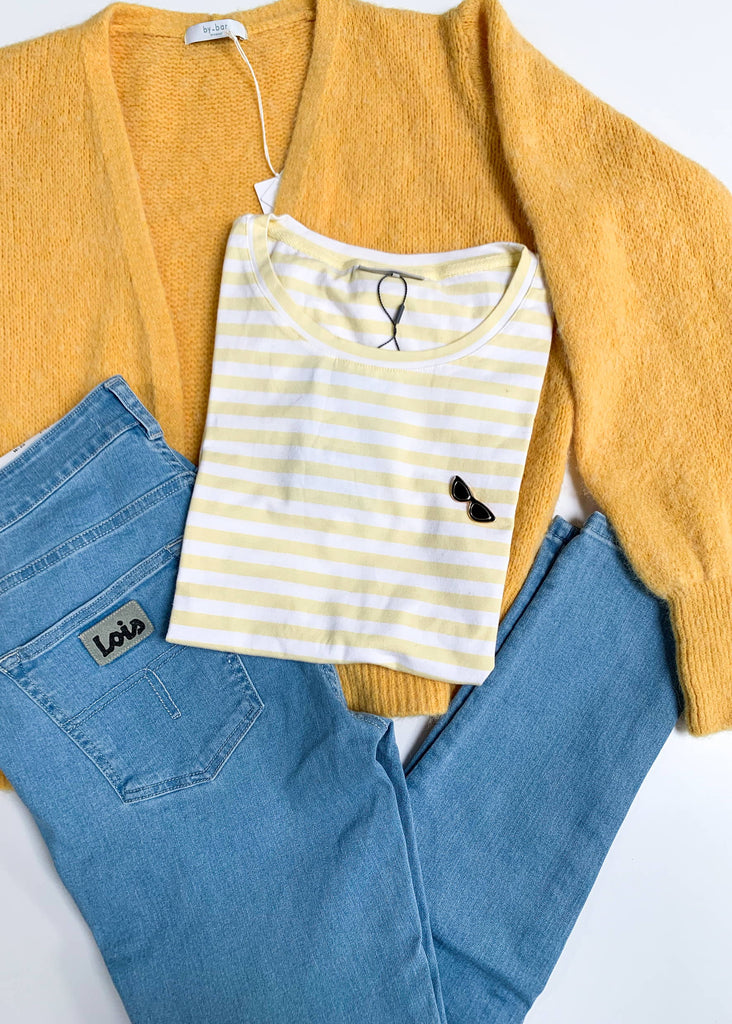 Comfy Yellow Stripes