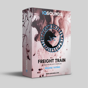 iqsounds freight train ableton project template melodic techno