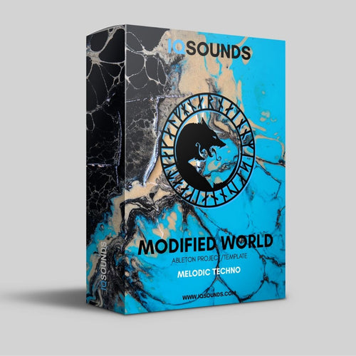 modified world ableton project template melodic techno iqsounds