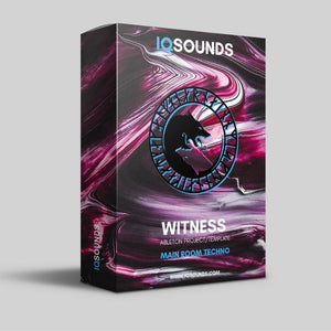 witness main room techno ableton project template iqsounds
