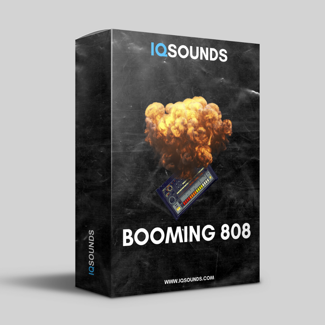 booming 808 midi patterns iqsounds