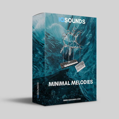 minimal melodies tech house synth sample pack iqsounds