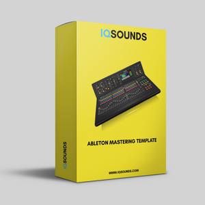 ableton mastering template, ableton mixing template, ableton mastering project, mastering template, mixing template, mastering template download, mixing mastering template, iqsounds