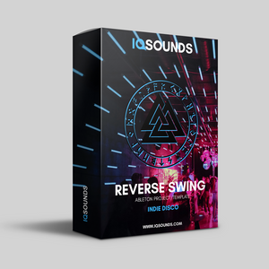 reverse swing, indie disco template, ableton template, abletunes, ableton disco template, indie disco ableton, disco samples, disco project, disco template, ableton templates, iqsounds