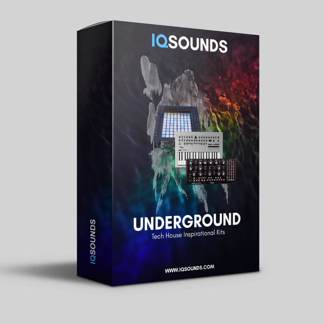 underground tech house construction kits iqsounds