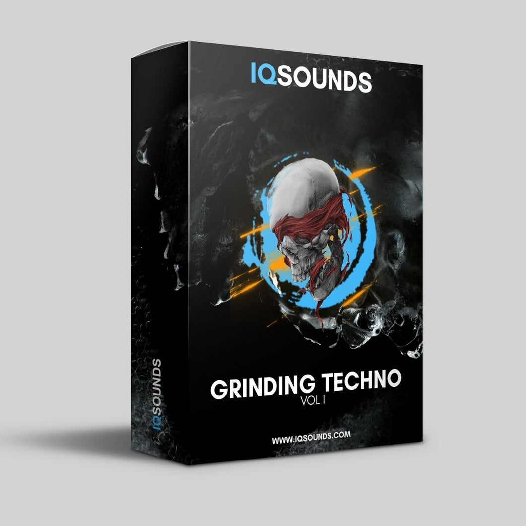 grinding techno underground sample pack iqsounds