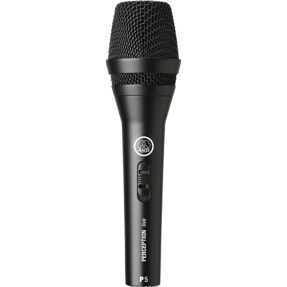 AKG P5s Dynamic Supercardioid Vocal Microphone with on/off switch