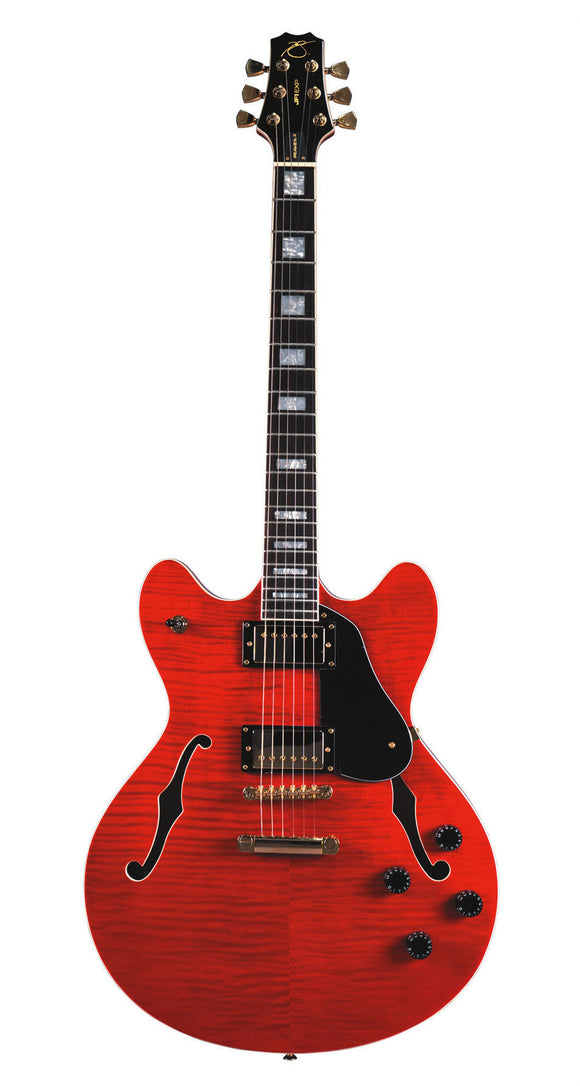 Peavey JF1EXP Electric Guitar (Red) - 1 Year Warranty