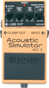 Boss AC-3 Acoustic Simulator Pedal (AC3)