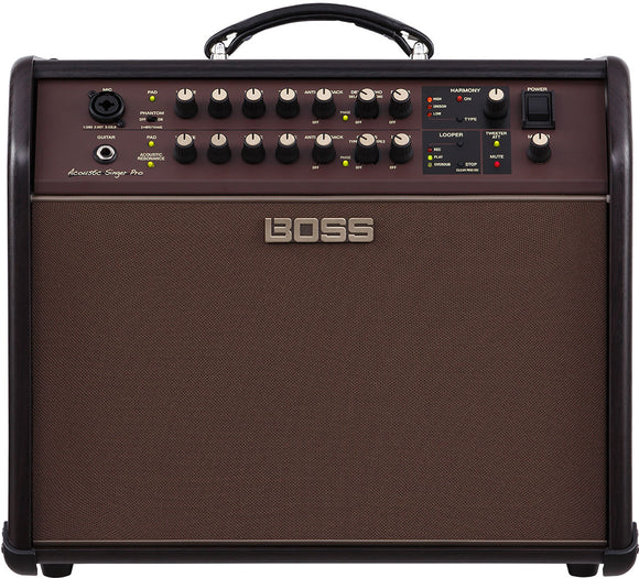 Boss Acoustic Singer Pro Acoustic Amplifier (120W)