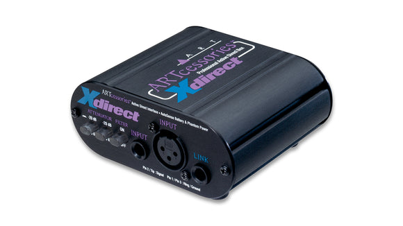 ART Pro Audio XDirect Professional Active Direct Box