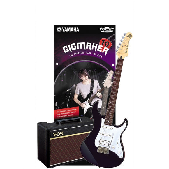 Yamaha GigMaker 10BL Electric Guitar Pack