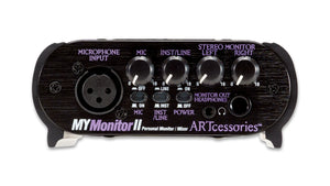 ART MyMONITORII Personal Monitor/Mixer with Mic and Line input