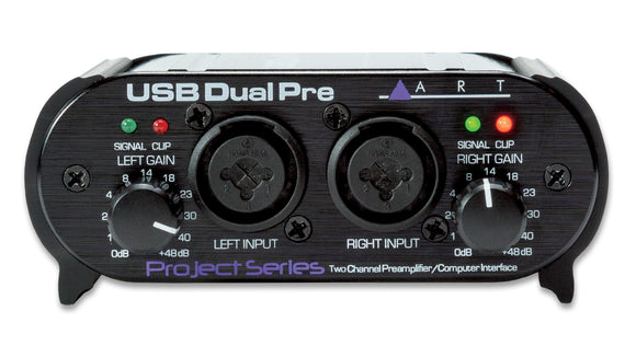 ART Pro Audio USB Dual Pre Project Series 2-Channel USB Pre