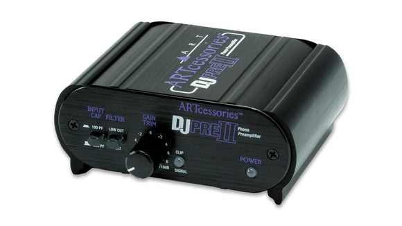 ART Pro Audio DJPRE II Phono Preamplifier