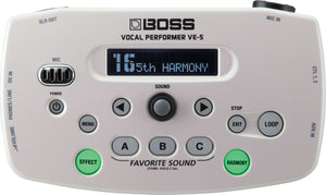 Boss VE-5 Vocal Performer Pedal