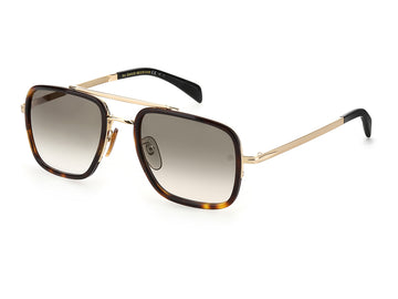 David Beckham DB7002/S, 06J GOLD HAVANA (54/22 - 140)