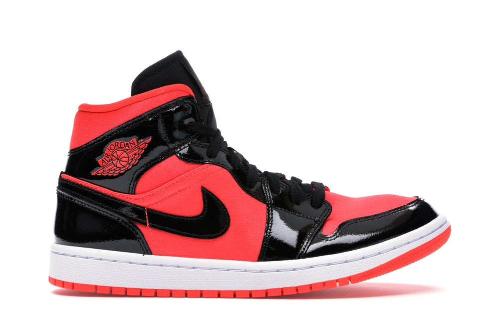JORDAN 1 MID HOT PUNCH/BLACK