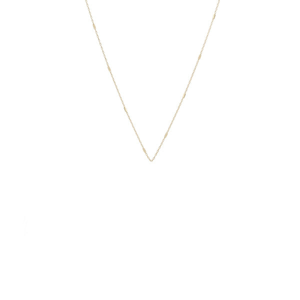 TINY BAR CHAIN NECKLACE