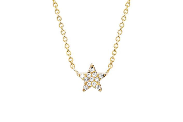 DIAMOND STAR CHOKER NECKLACE