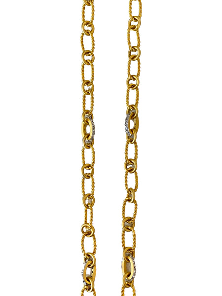 ROPE STYLE CHAIN WITH CZ