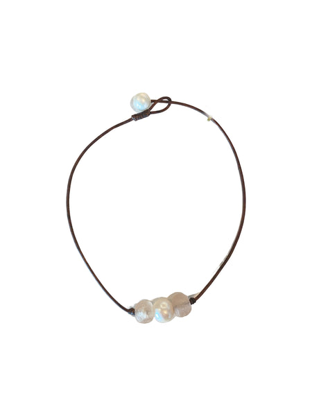 SEA GLASS PEARL CHOKER