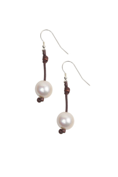 LARGE FRESHWATER PEARL SEAPLICITY EARRING