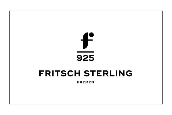 Fritsch Sterling Ohrstecker 925/- Silber Diamant