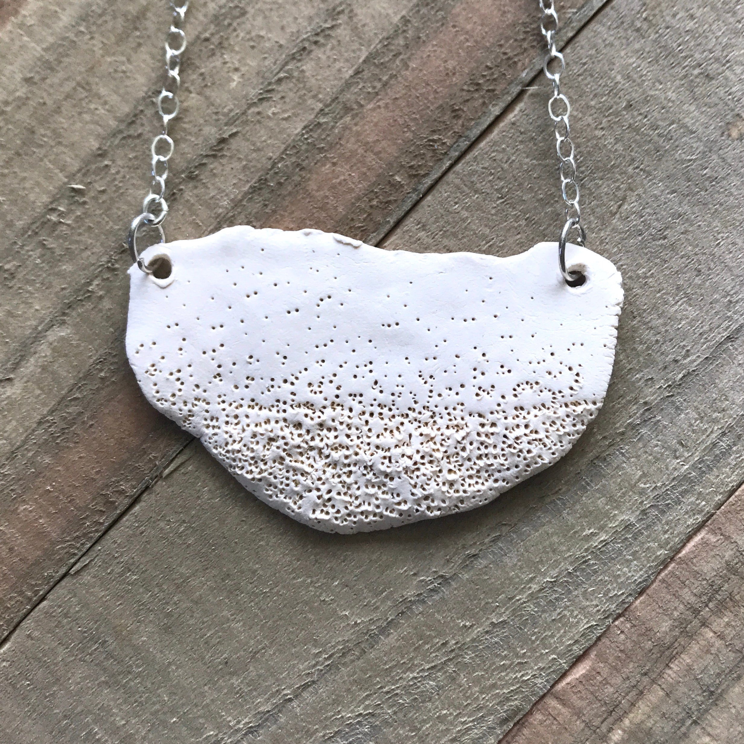 Half Moon Necklace with chain