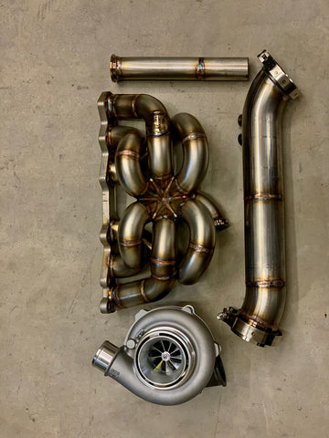 1JZGTE non vvti Bottom Mount Turbo Kit