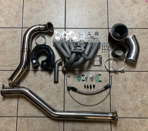 2JZGTE Single Turbo Conversion BASE KIT