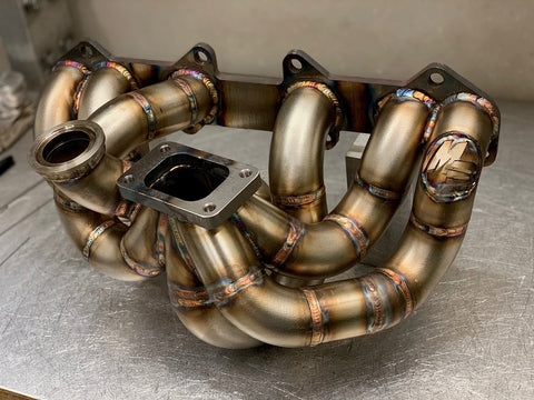 1jzgte VVT-I T3 Top Mount Exhaust Manifold