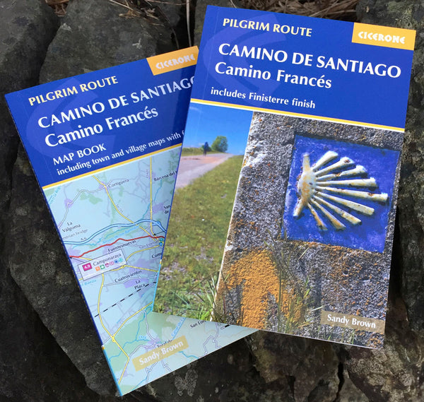 2020 edition: Camino Frances Guide and map book - includes Finisterre finish (W/FREE Passport)