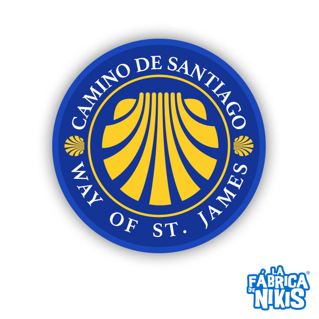 Round Way of Saint James Badge