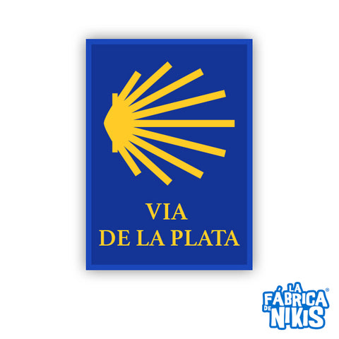 Via de la Plata Badge