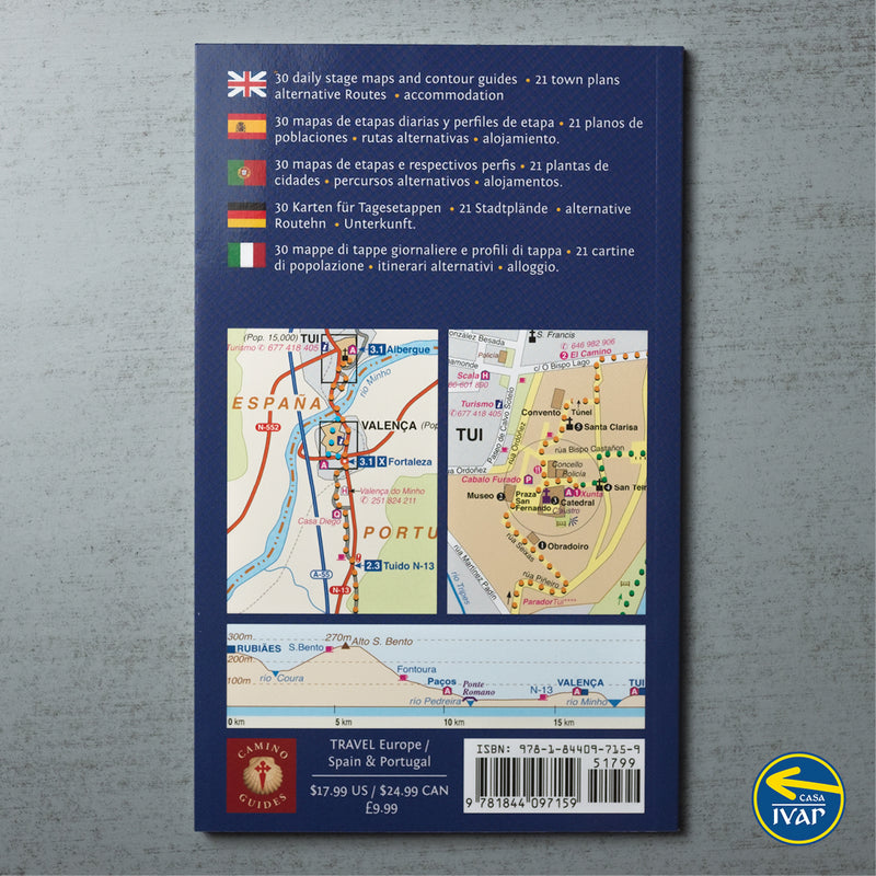 2020 edition: Maps Only Guide to the Camino Portugués