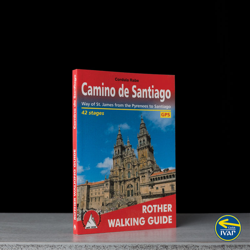 Camino de Santiago - Way of St James from the Pyrenees to Santiago (W/FREE Passport)