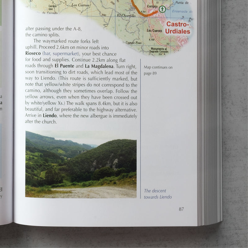 Cicerone: The Camino del Norte and Camino Primitivo (W/FREE Passport)