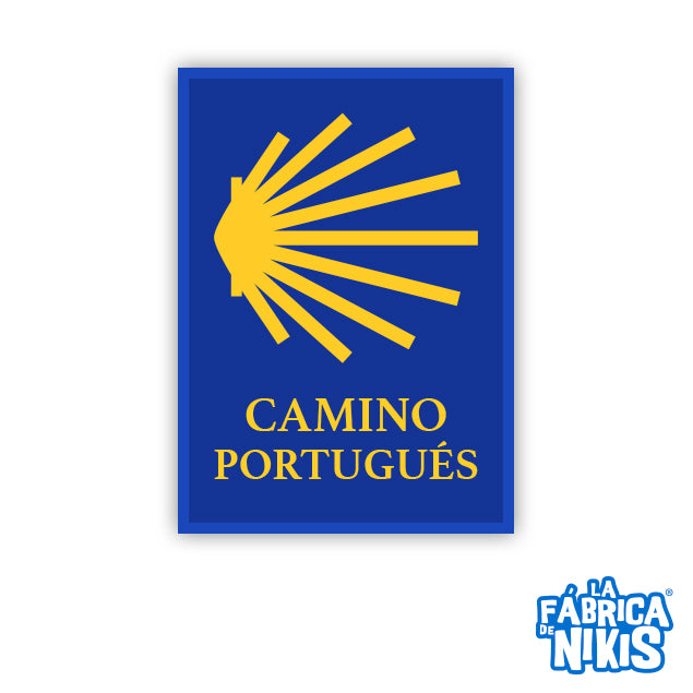 Camino Portugues Badge